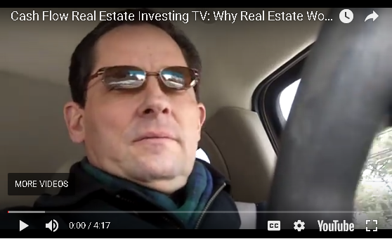 Cash Flow Real Estate Investing : Why Real Estate Works with a Day Job