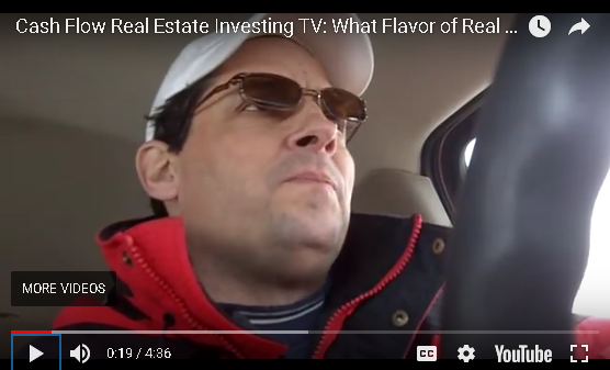Cash Flow Real Estate: What Flavor of Real Estate Tasted Best?