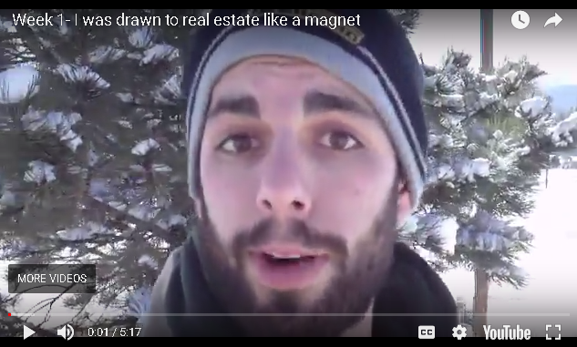 Jesse B: Week 1 - I was Drawn to real Estate like a Magnet