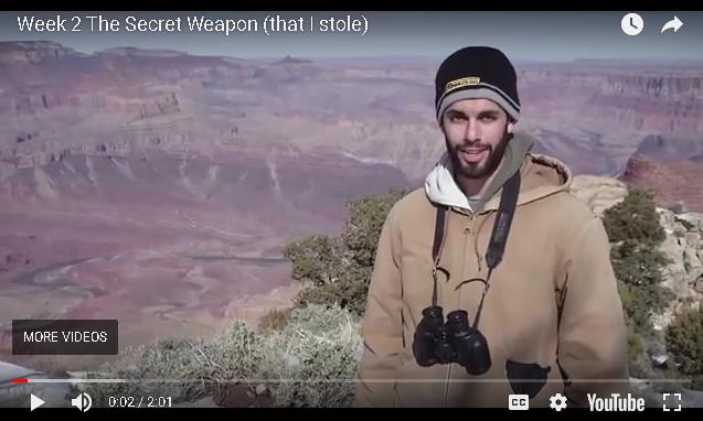 Jesse B: Week 2 - The Secret Weapon (That I Stole)