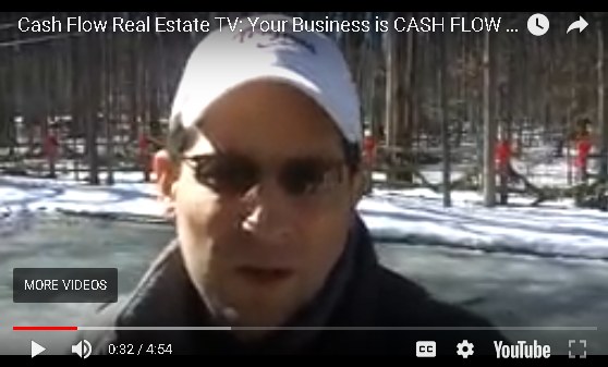 Cash Flow Real Estate: Your Business is CASH FLOW not Kumbya Hugs