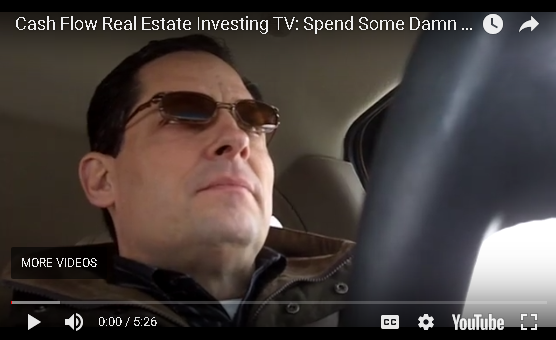 Cash Flow Real Estate Investing: Spend Some Damn Money Already!