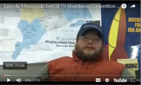 Ep 9 Renegade Detroit TV: Embrace The Concept of Abundance!
