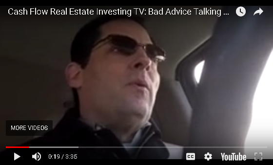 Cash Flow Real Estate Investing - Bad Advice Talking Heads Strike Again