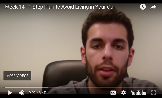 Jesse B - 1-Step Plan to Avoid Living in Your Car