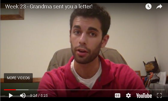 Jesse B - Grandma Sent You a Letter
