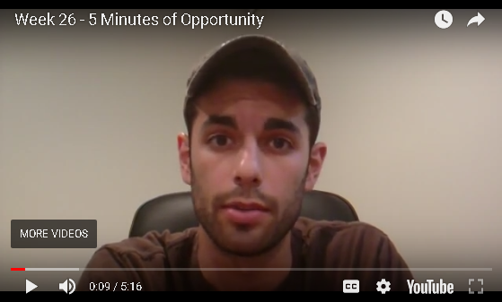 Jesse B - 5 Minutes of Opportunity