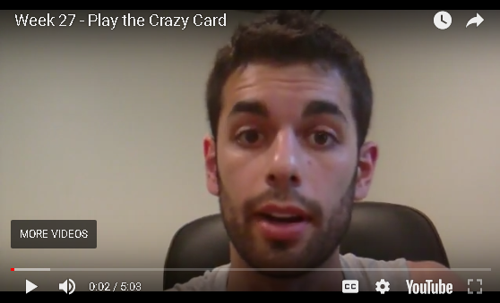 Jesse B - Play the Crazy Card