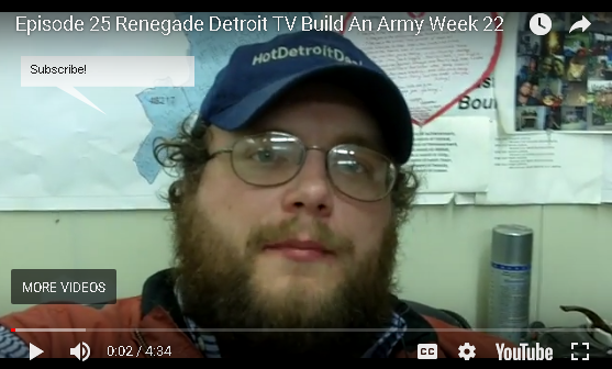 Ep 25 Renegade Detroit TV - Build and Army of People to Find Deals
