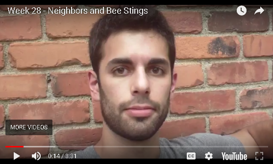 Jesse B - Neighbors and Bee Stings