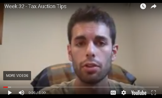 Jesse B - Week 32 - Tax Auction Tips