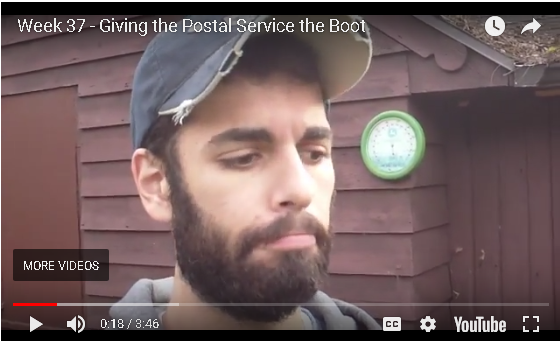 Jesse B - Giving The Postal Service The Boot