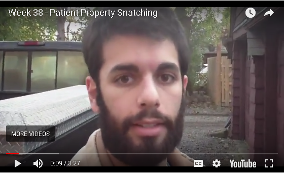 Jesse B - Patient Property Snatching