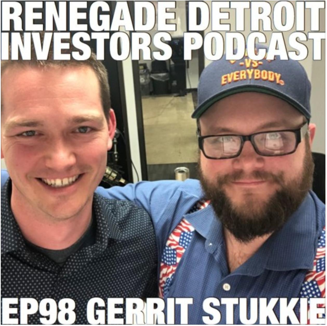 RDI Podcast Ep98 Gerrit Stukkie
