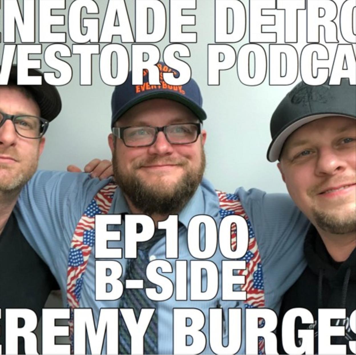 RDI Podcast Ep 100: Jeremy Burgess B-Side
