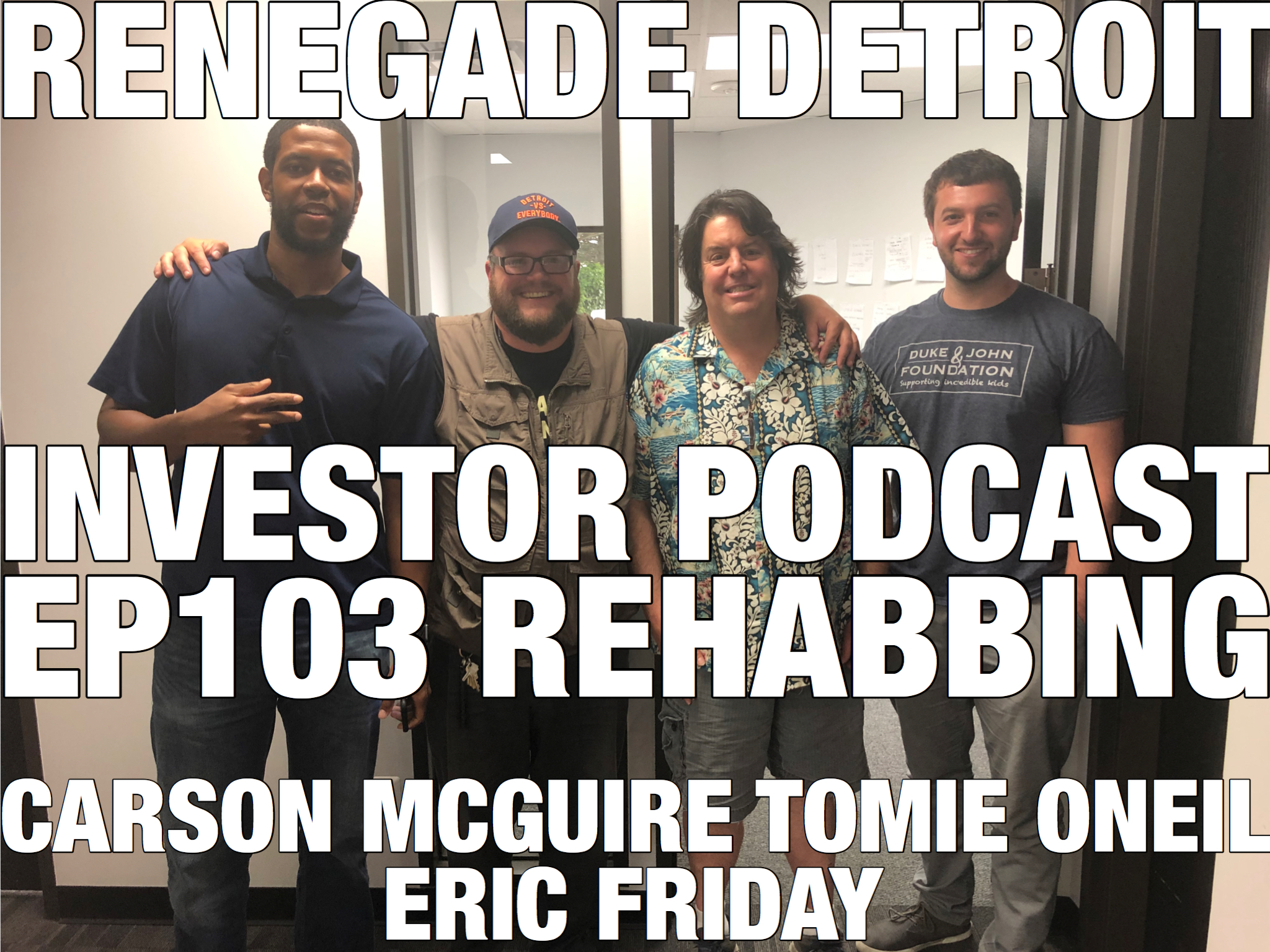 RDI Podcast Ep 103: Carson McGuire, Tomie O'Neil & Eric Friday